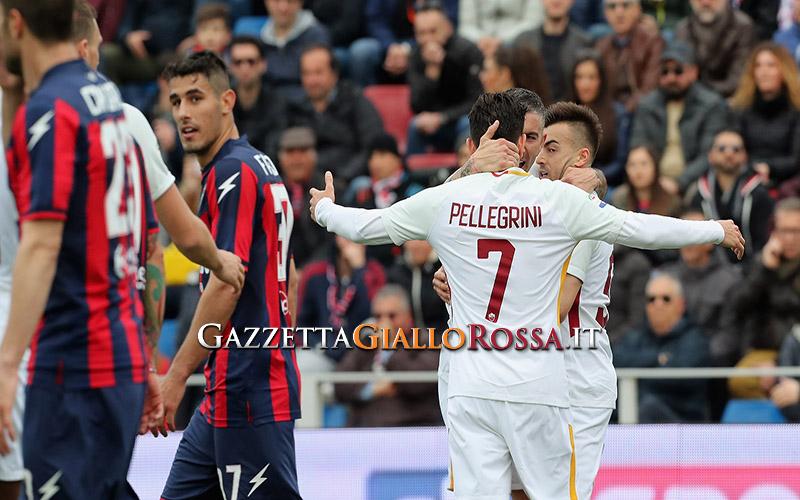 esultanza gol El Shaarawy