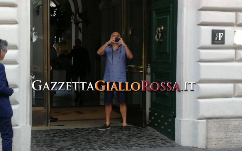 Il presidente della Roma Pallotta sceglie Amalfi per le sue vacanze