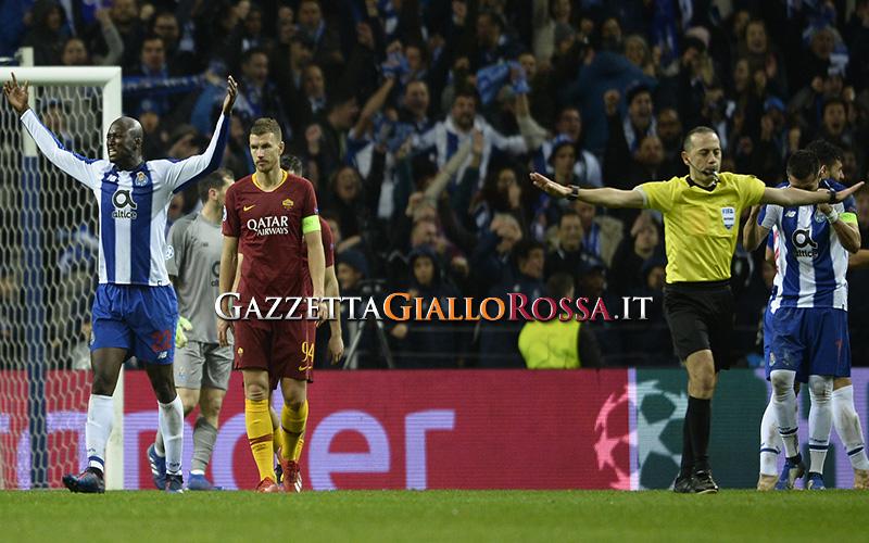 Champions League, la Roma va fuori col Porto. Di Francesco a rischio