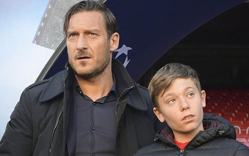 Francesco e Cristian Totti