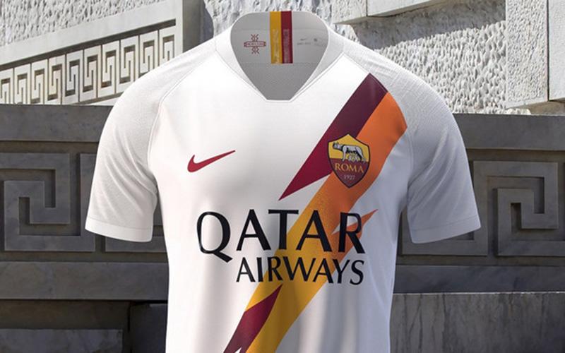 seconda maglia Roma