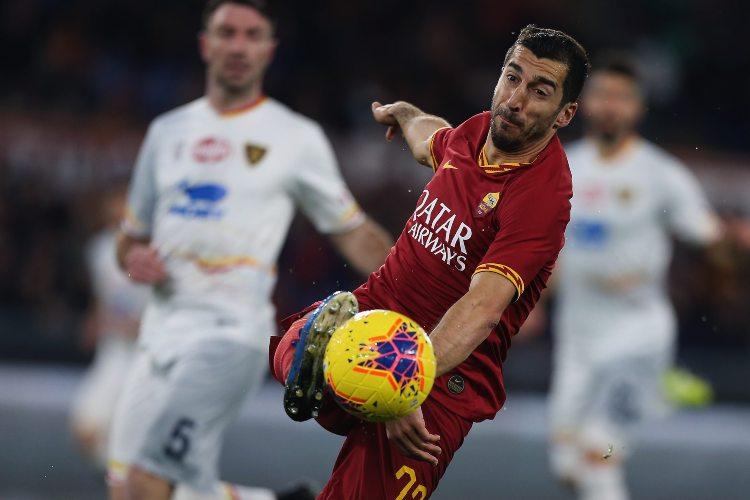 Calciomercato Roma, Mkhitaryan estende e resta anche la prossima stagione