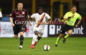 Milan-Roma Gervinho