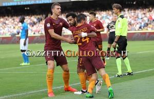 Dzeko, Salah, Florenzi