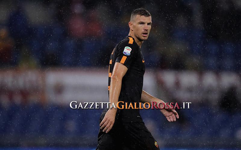 ROMA, Dzeko deluso dalla cessione al Chelsea