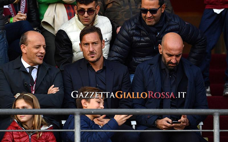 Baldissoni, Totti e Monchi