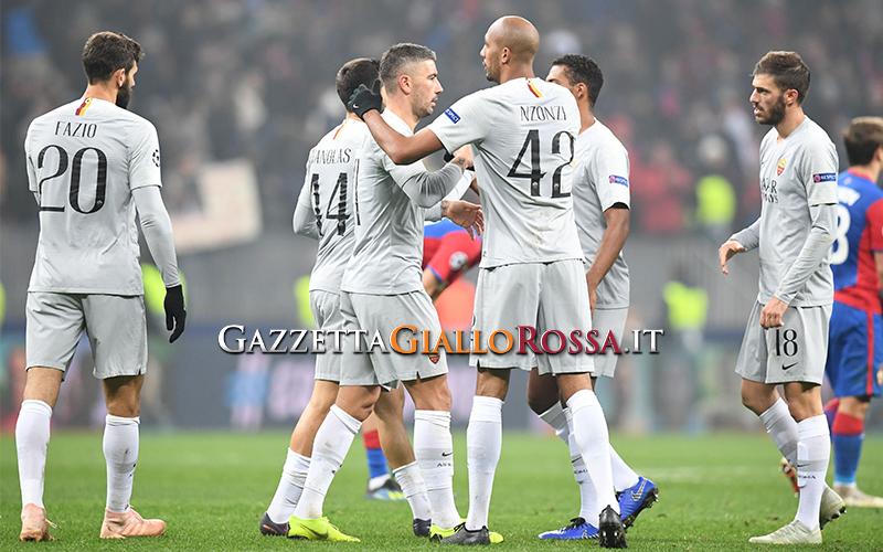 CSKA Mosca-Roma