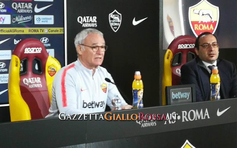 Ranieri in conferenza